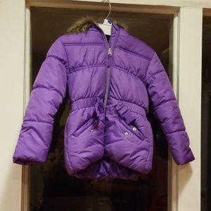 Rothschild girl's winter puffy coat